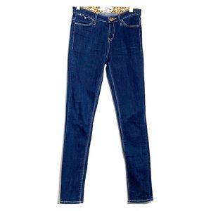 DITTOS • Mid Rise Skinny Dark Wash Denim Jeans